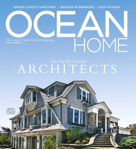 From Ocean Home Magazine: Art in the Heart