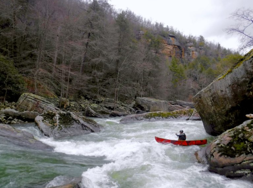 Come to Daddy's: Tennessee's Daddy's Creek a Whitewater Haven